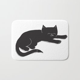 Happy Kitty Bath Mat