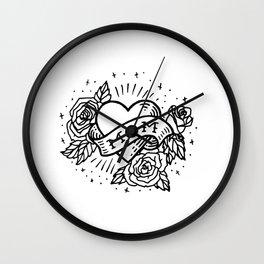 mom tat Wall Clock