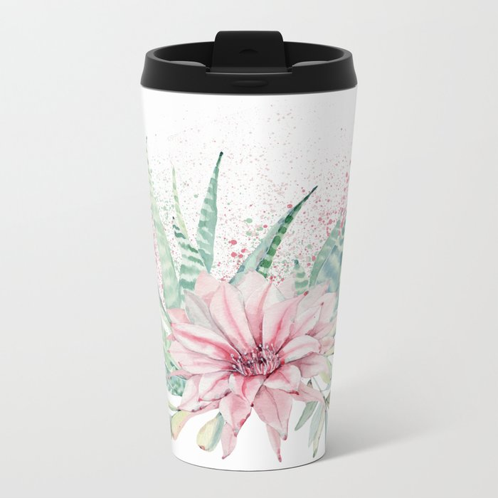 Desert Rose #society6 #buyart Metal Travel Mug