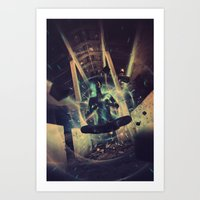 Power Trip Art Print