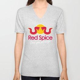 Red Spice Unisex V-Neck