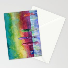 Crystal Monoliths Stationery Cards