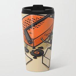 RECORD EATER Metal Travel Mug