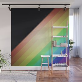 Vintage rainbow Wall Mural