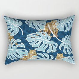 LEOPARDS IN THE JUNGLE Rectangular Pillow