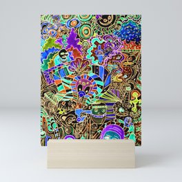FLIPPIN FUNHOUSE Mini Art Print
