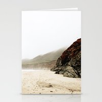 big sur Stationery Cards featuring Big Sur by Ash & James