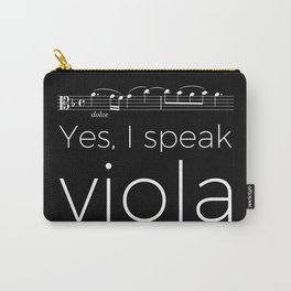 Yes, I speak viola Carry-All Pouch