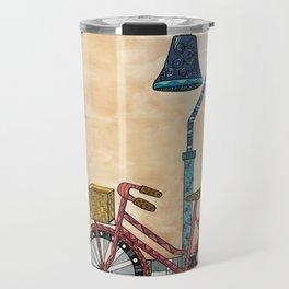 Bicycle on the El Camino Real Travel Mug