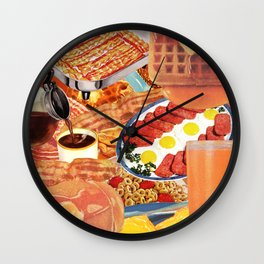 The Most Important Meal Wall Clock
