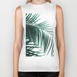 Palm Leaves Green Vibes #8 #tropical #decor #art #society6 Biker Tank