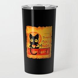 Chat Magique Travel Mug