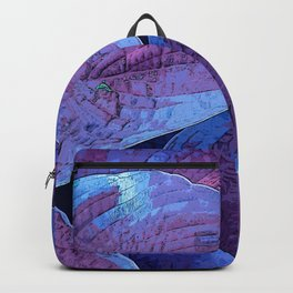 Hosta Purple Pantone 2018 Backpack