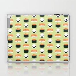 Salmon Dreams in wasabi, large Laptop & iPad Skin
