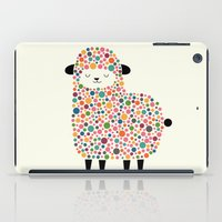sheep iPad Cases featuring Bubble Sheep by Andy Westface