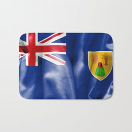 Turks and Caicos Islands Flag Bath Mat