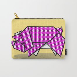 Origami Pig Carry-All Pouch