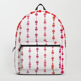 Multi-faceted decorative lines 12 Backpack