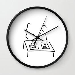 meeting decision design director Wall Clock