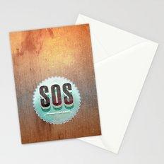 S O S Stationery Cards