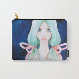 Ethereal Blue Carry-All Pouch