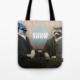 Mordecai & Rigby Tote Bag
