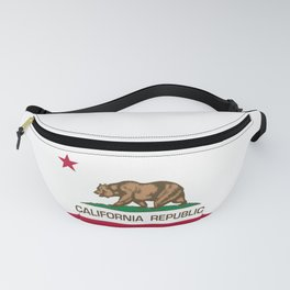California Republic Flag - Bear Flag Fanny Pack