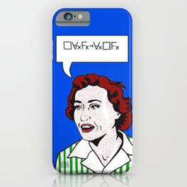 (Converse) Ruth Barcan Marcus iPhone Case