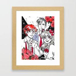Inktober 2016 - Gekkan Shoujo Framed Art Print