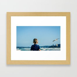 The Chasers Framed Art Print
