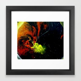 DEBT Framed Art Print