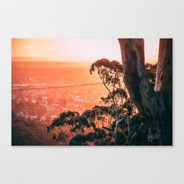 Beautiful Spring Sunset Canvas Print
