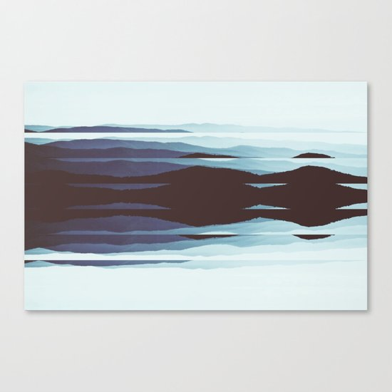Abstract fine art piece Canvas Print