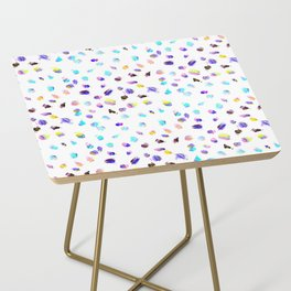Paint Daubs Side Table