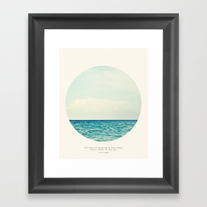 Salt Water Cure Gerahmter Kunstdruck