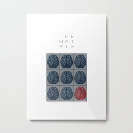 The Matrix Metal Print