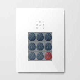 The Matrix Metal Print