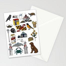 Maryland Flash Sheet - Color Stationery Cards