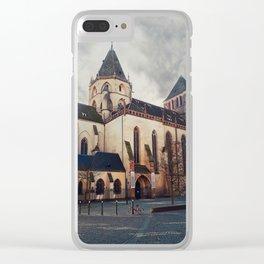 Saint Thomas church Clear iPhone Case