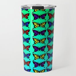 A Butterfly Pattern Travel Mug