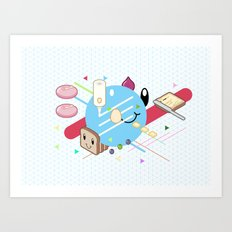 Tasty Visuals - Mayooo Art Print