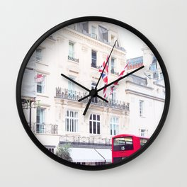 London Street 13 Wall Clock