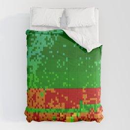 Dr Glitch Pattern Comforters