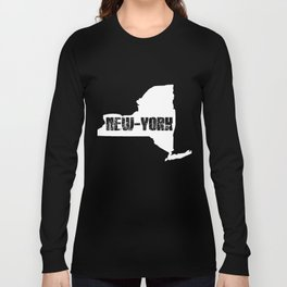Vintage New York State Long Sleeve T-shirt