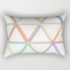 Spring in Angles Rectangular Pillow