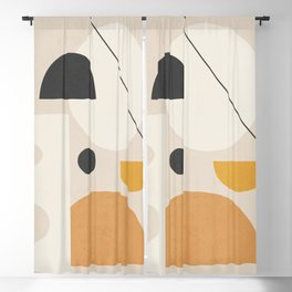 Abstract Art / Shapes 19 Blackout Curtain