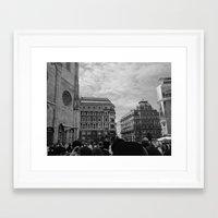 vienna Framed Art Prints featuring Vienna by McLane O'Daniell