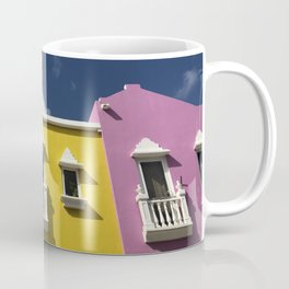 Caribbean colourful houses Coffee Mug