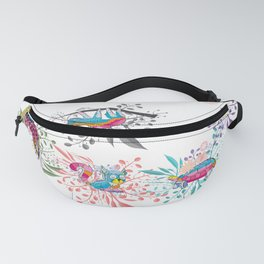 Spring Animals Jungle Safari Fanny Pack