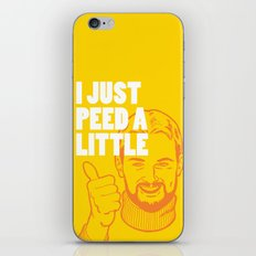 I Just Peed A Little iPhone & iPod Skin